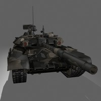 T-90 Russian MBT Game Ready Model