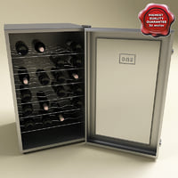 Whynter 28 Bottles Wine Cooler and bottles