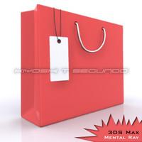 maya red bag white tag