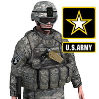US Army Infantry with IOTV armor