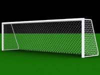 soccer football goal 3d model