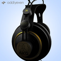 headphones 3d model