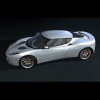 Evora sports car (Game Version)