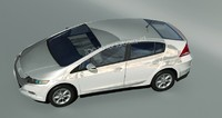 3d model of honda insight