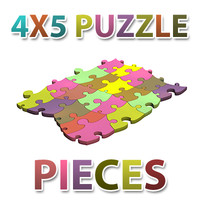 deformed jigsaw puzzle pieces