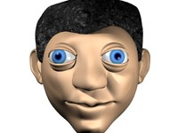 3ds max ethnic man boy
