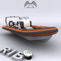 Rigid Inflatable Boat 03