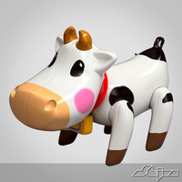 cow toy 3d max