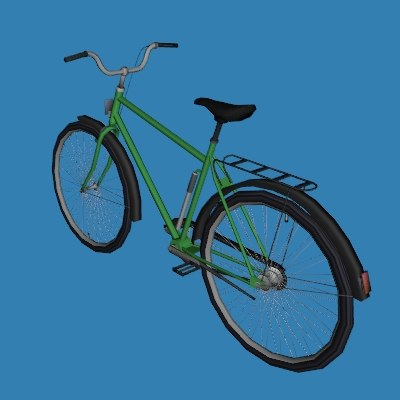bicycle 3ds - Touring bike... by gorandodic