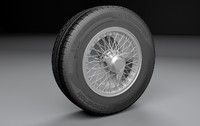 Aston Martin DB5 Wheel