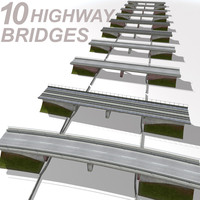 Highway Bridge Set