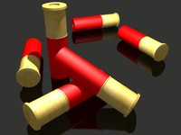 3d max shotgun shell