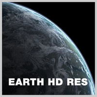 earth clouds 3d model