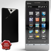 htc touch diamond 2 3d c4d