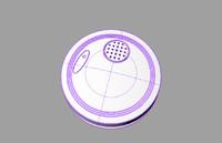 smoke detector 3d c4d