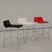 contemporary bar chair corian dwg