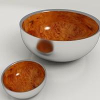 3ds max bowls