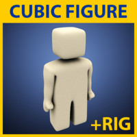 simple cubic figure