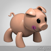 maya pig toy
