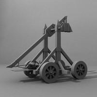 3d model catapult