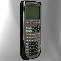 3d ti-89 calculator model