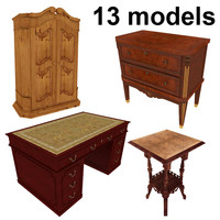 Furniture - classic pack - 13 models