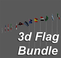 3d Flag Bundle