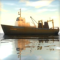 3ds max russian trawler