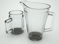 Beer Pitcher & Mug