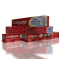 colgate paste toothpaste 3ds