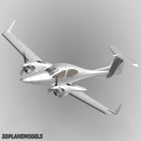 Diamond DA42 Twin Star Generic white
