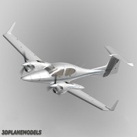Diamond DA42 Twin Star Private livery 1