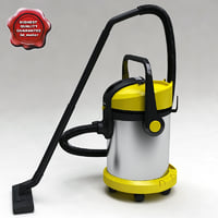 3ds max vacuum cleaner karcher 2554