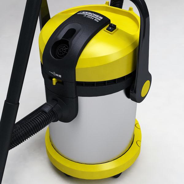 filtre aspirateur karcher a 2554 3ds max vacuum cleaner. Black Bedroom Furniture Sets. Home Design Ideas