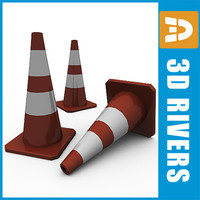 free max mode runway road cone
