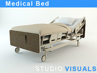 3d medical bed