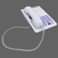 telephone 3d obj