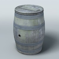 old barrel 3ds