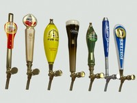 3ds max beer taps