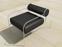3dsmax modern chair