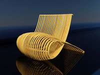 wood chair.max