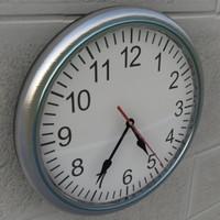 wall clock 3d max