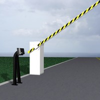 3d barrier gate