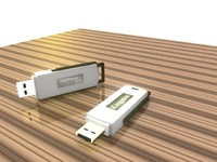kingston flash drives 3d model