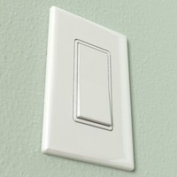 Light Switch and Wall Plate - Accurate and scale
