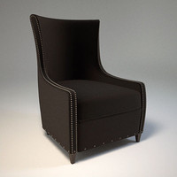 lily jack lounge chair 3d 3ds