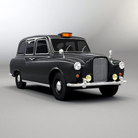 classic london cab 3ds