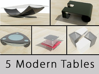 set tables 3d c4d