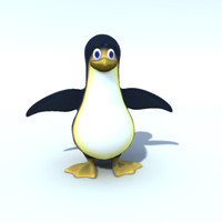 penguin model.obj