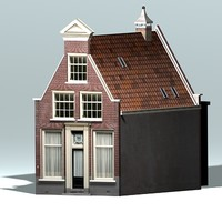 3d 3ds dutch historic house